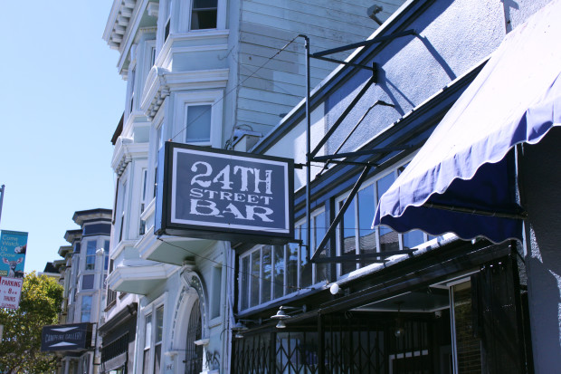 24th Street Bar, located on 3336 24th Street. Photo by Meira Gebel.