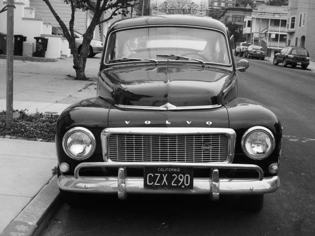 Black Volvo Photo by Kathleen Narruhn