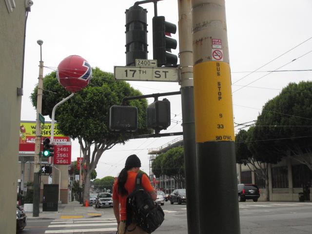 Waiting at 17th & Potrero by Kathleen Narruhn