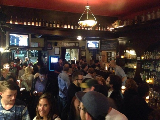 Elixr hosts their pub-quiz on Tuesdays at 9 p.m. Photo by Meira Gebel.