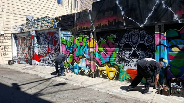Mayor Lee, Supervisor Campos Speak to International Graffiti Group