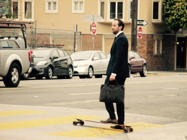 SNAP: Suited and Rolling on 16th St