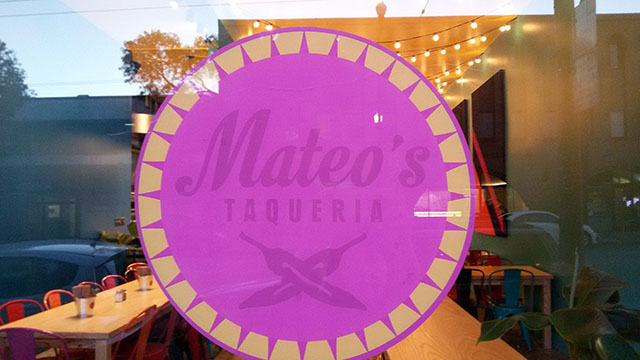 Mateo's Taqueria, Not a Tech-eria