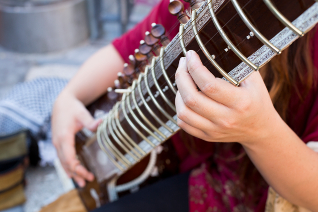 A Young Sitar Player Mastering Her Craft - Mission Local
