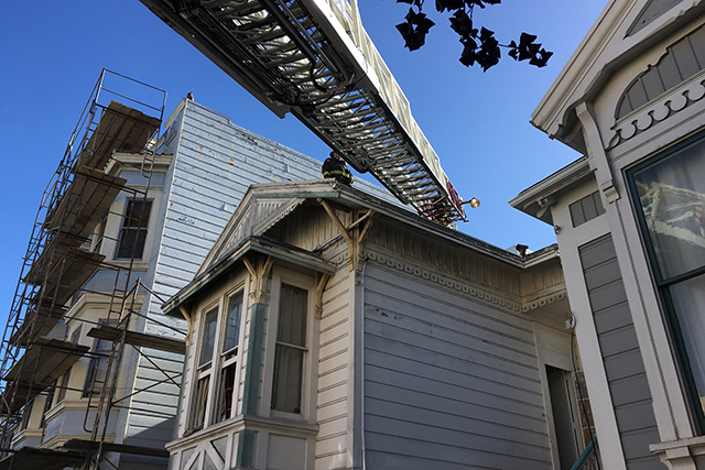 Firefighters Subdue Small Attic Fire in SF Mission