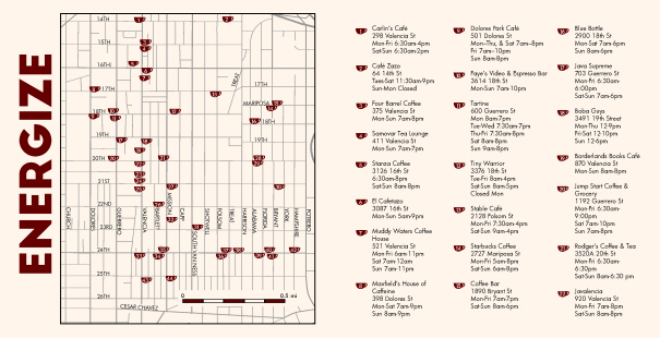 Maps: Mission Coffee Shops