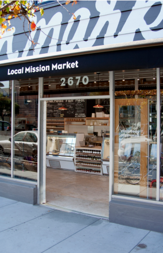 The Local Mission Market at 2670 Harrison St. will continue. Photo Courtesy of the Local Mission Market.