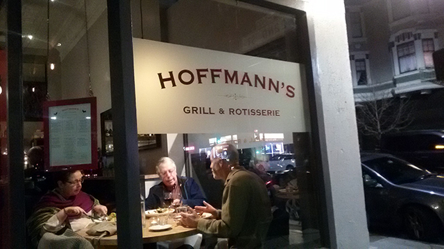 Hoffmann's: A Clean, Well-Lighted Place With Good Food!