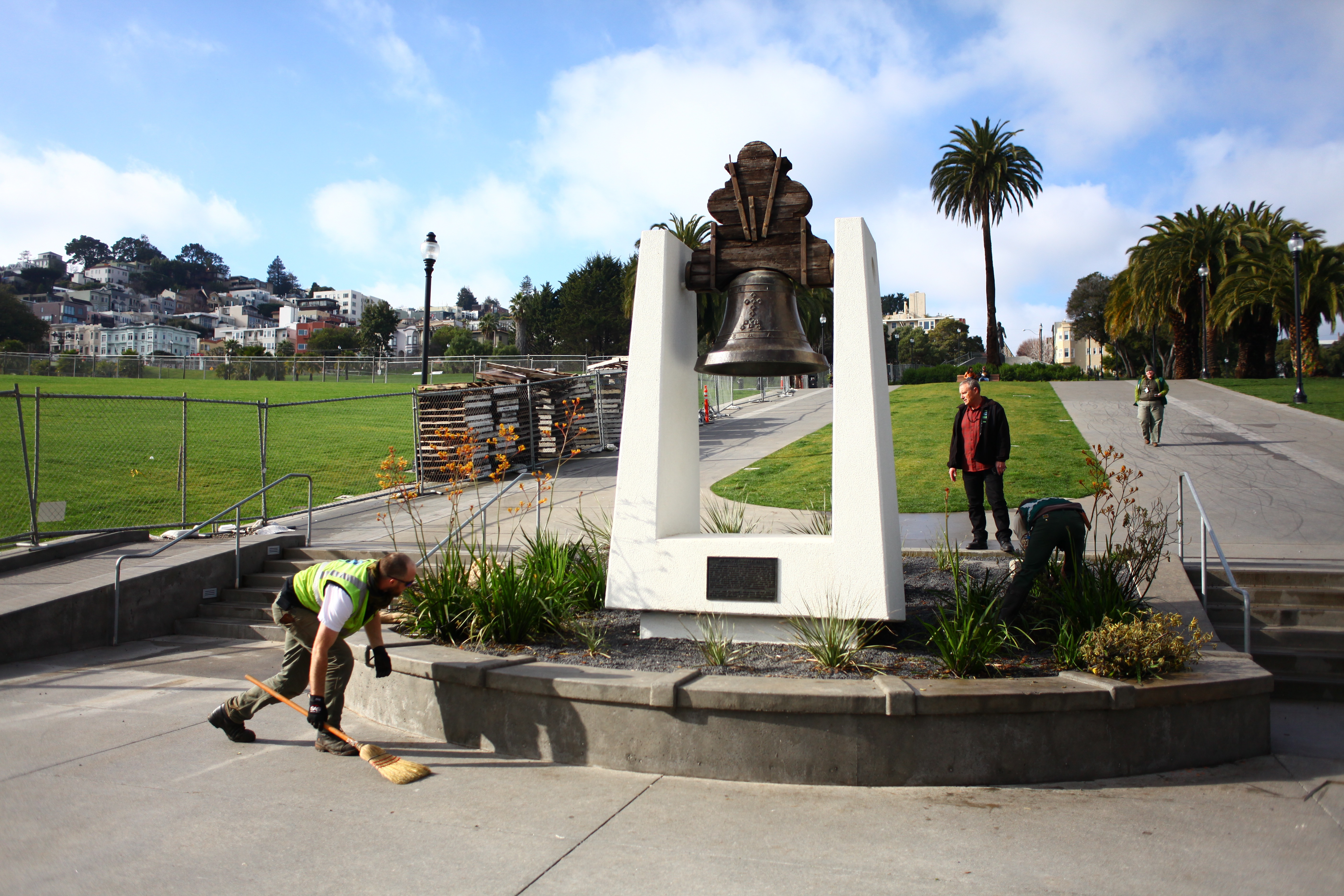 Behind the Scenes at the New Dolores Park