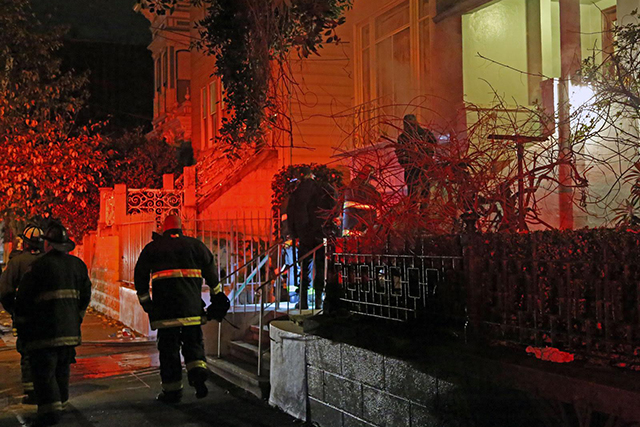 Small Fire in SF Mission Quickly Extinguished