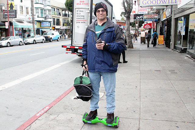 Hoverboards Merge Uneasily onto SF's Streets