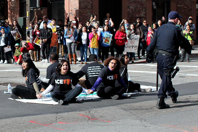 Activists Protesting Deportations Arrested in SF