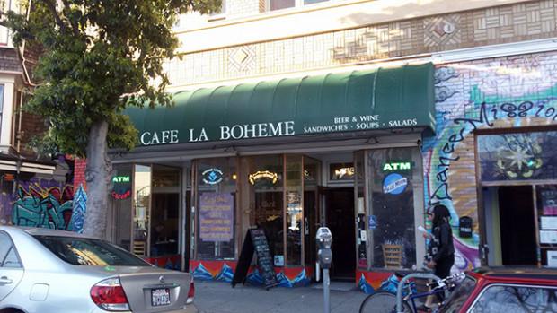 Boheme exterior sign