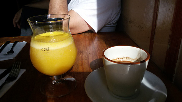 Boheme mimosa turkish coffee