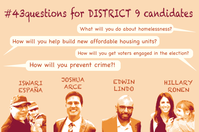 District 9 Candidates Respond to Mission and 22nd Fire