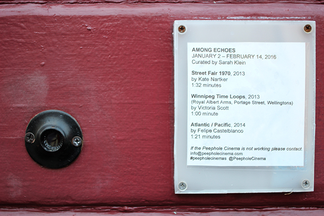 Peephole Cinema in SF Mission Offers Eye-Sized Viewing