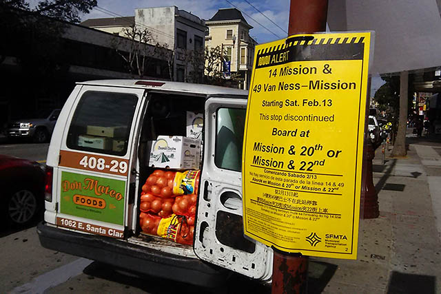 Commuters Voice Mixed Feelings About Mission St. Changes