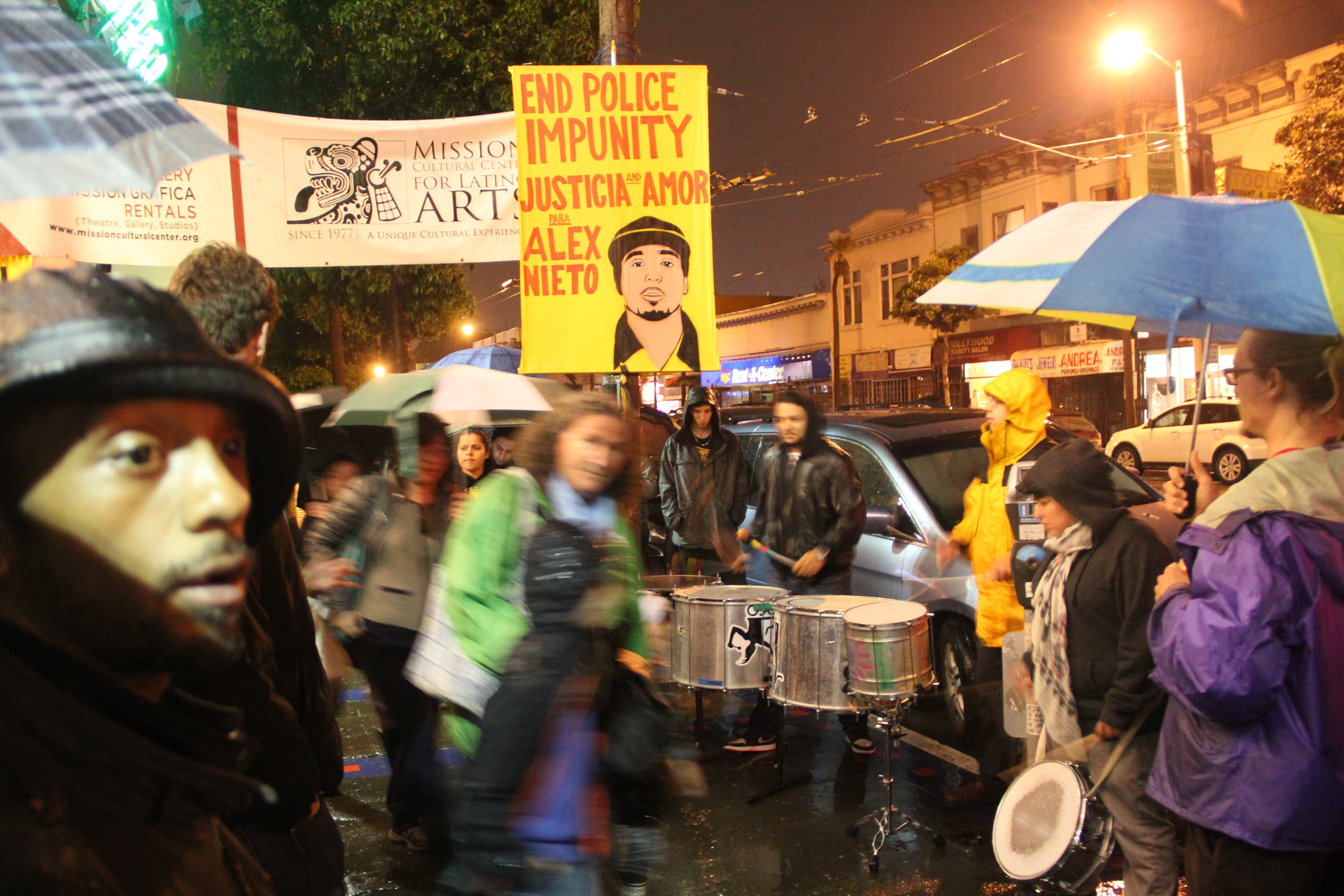 Post-Trial Rally for Alex Nieto Talks Police Cover-Up
