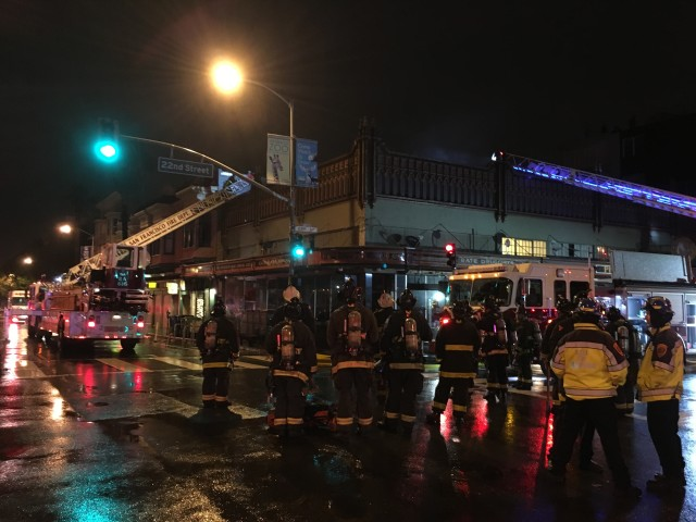 Small Fire Temporarily Closes Boogaloos Restaurant (Updated)