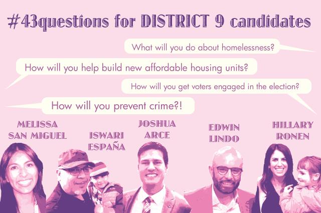 Candidates para el distrito 9 hablan del proyecto de vivienda del Bryan St.