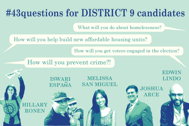 D9 Candidates Talk Height, Density in SF Mission
