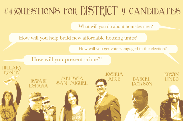 District 9 Candidates Talk Tasers