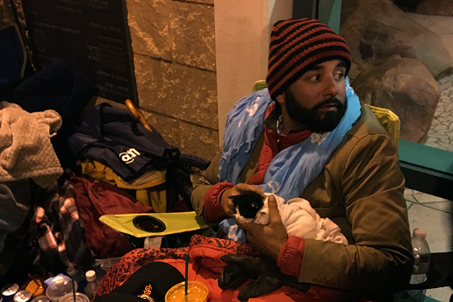SF Mission Hunger Strike Temporarily Fells One