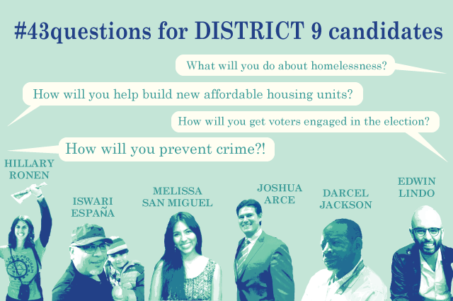 District 9 Candidates Call for Police Reform — and More