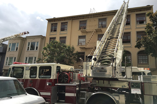 Three-Alarm Apartment Fire Near Dolores Park Displaces Tenants