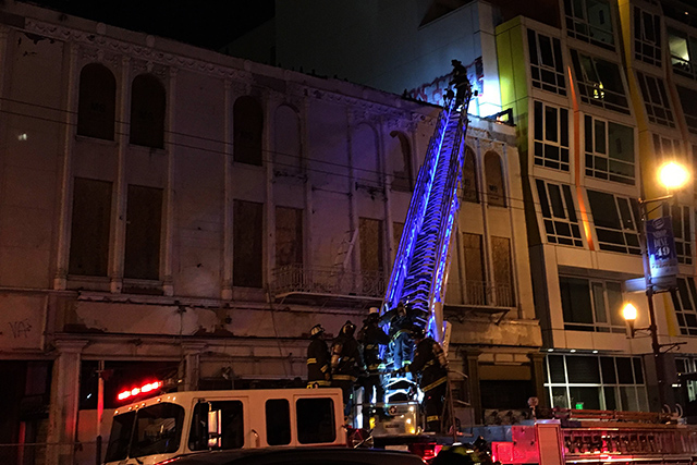 Small Fire Burns Mission and 22nd Building for Third Time