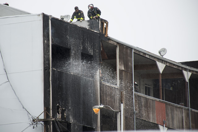 Neighbors of Tenants Displaced by Fire Fundraise