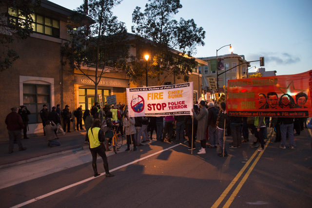 Protesters March Against Police Use of Force in SF Mission