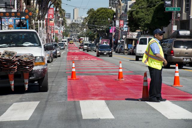 "More Criticism of Mission Street's ""Red Carpet"""