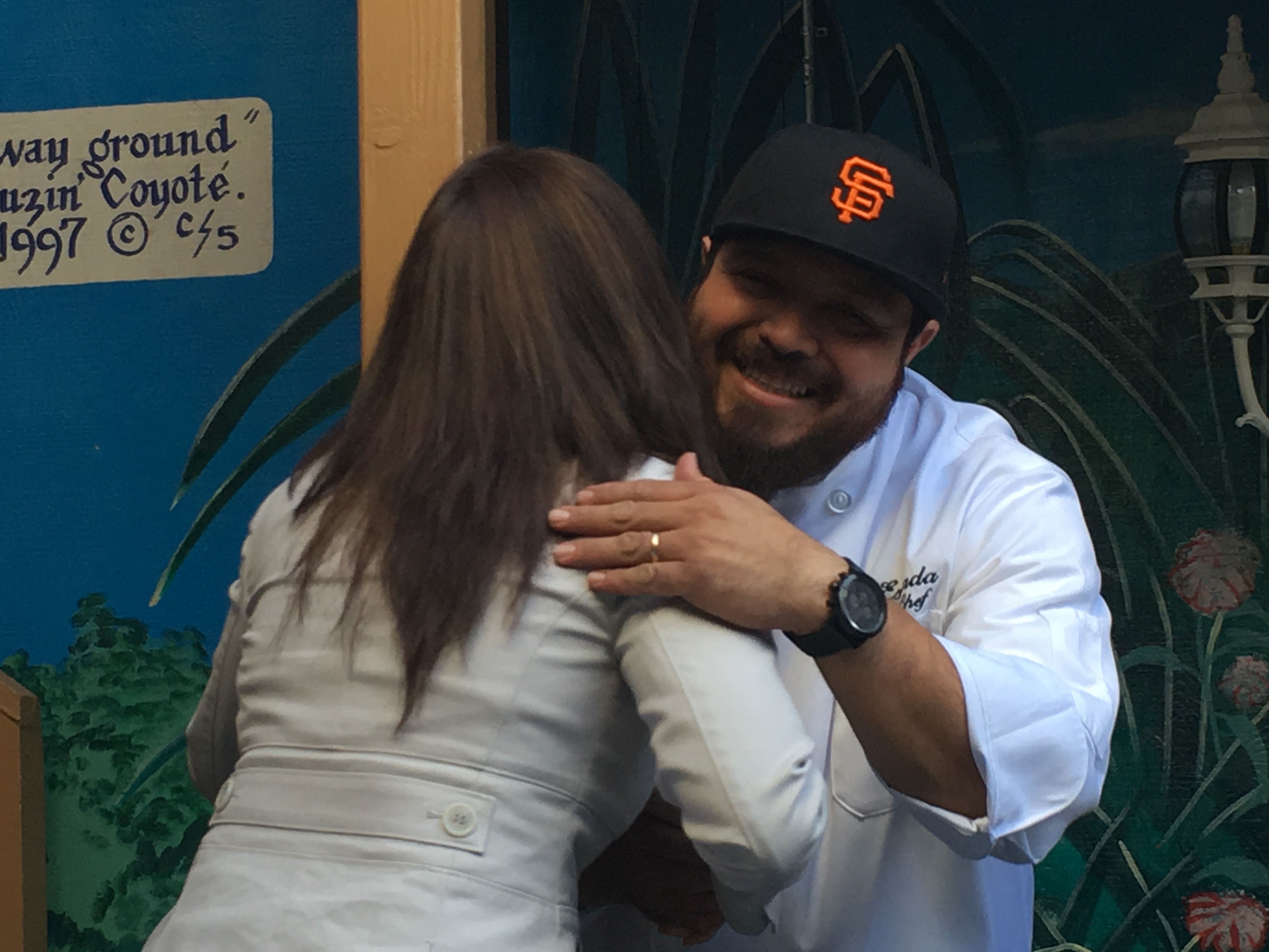 Luis Estrada at the D'Maize grand opening on Thursday, May 12. Photo by Joe Rivano Barros.