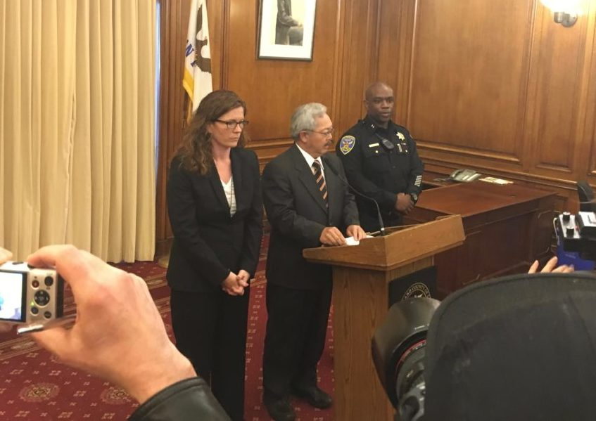Mayor Announces Resignation of SF Police Chief After Fatal Police Shooting