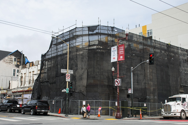 Photos: Progress of Demolition at 22nd and Mission