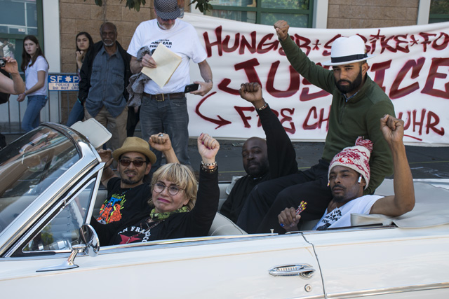 Lowriders, Cops Face Off at SF Mission Hunger Strike