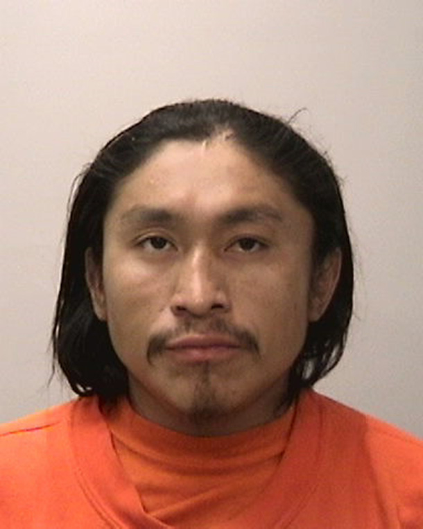 Mugshot of suspect arrested in connection with a June 5 stabbing, Jose Poot, courtesy of SFPD.