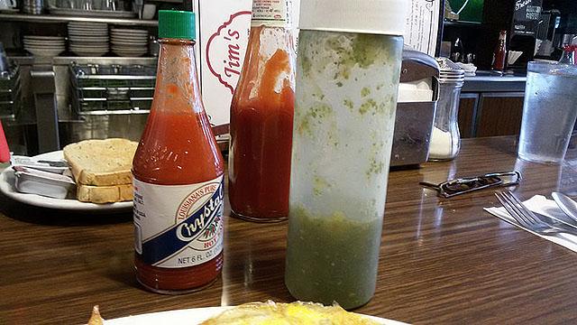 Jim's salsas.