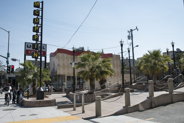 Troubled Public Plaza Will Be Fenced Off To Divert Homeless