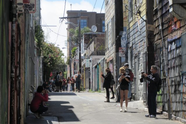 Clarion Alley Photo by Kathleen Narruhn