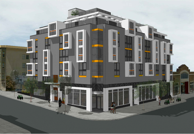 Advocates for Low-Income Housing Balk at a Six-Story Project Next to Arizmendi Bakery