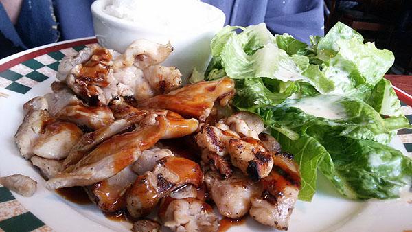 Teriyaki chicken.