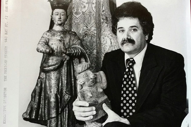 Peter Rodriguez during his time as Executive Director of the Mexican Museum. Photo courtesy of the Mexican Museum