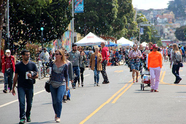 Music, Makers and Civics at Sunday Streets
