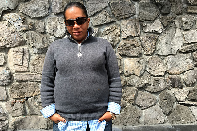 After Sweeps, Homeless Woman Faces Job Hunt