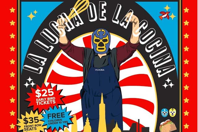 La Cocina To Host Wrestling-Themed Taco Party This Saturday