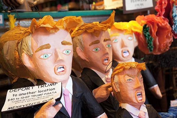 Trump Piñata Sales Soar in SF's Mission