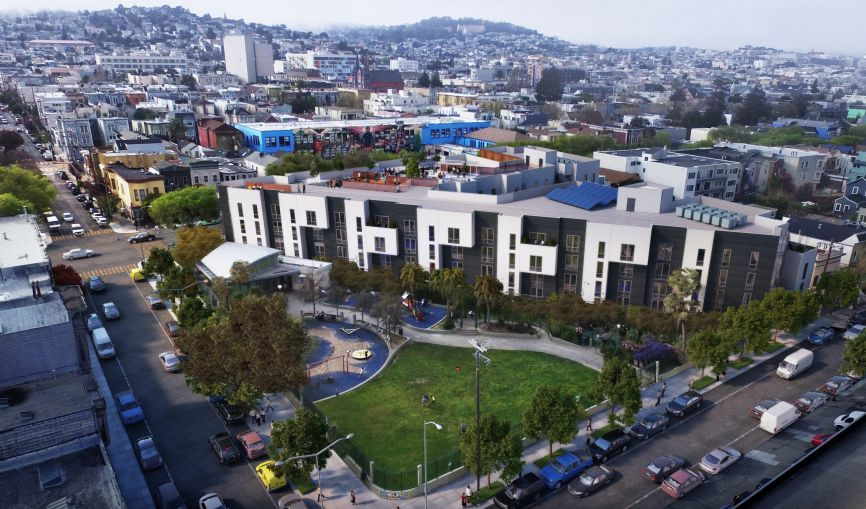 Image result for Axis Development pulling out of 2675 Mission Street