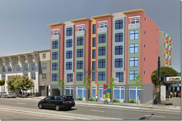 Proposed development at 3314 Cesar Chavez St.